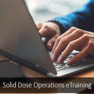 Solid Dose Operations Training en Espanol